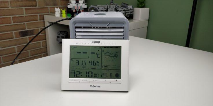 Arctic Air Tisch Klimaanlage Temperatur vorher