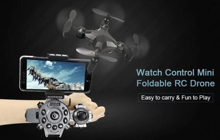 Drohne mit Steuerung am Handgelenk (3)