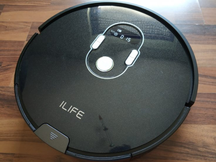 ILIFE A7 Saugroboter Design