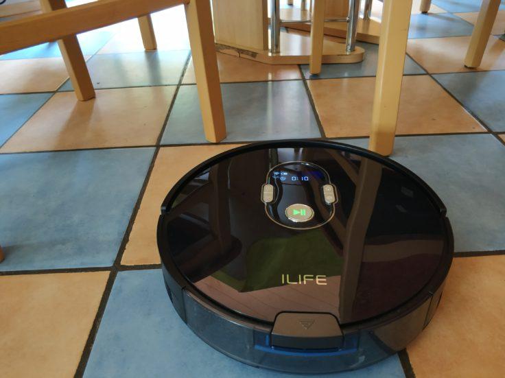 ILIFE A7 Saugroboter Navigation Hindernisse