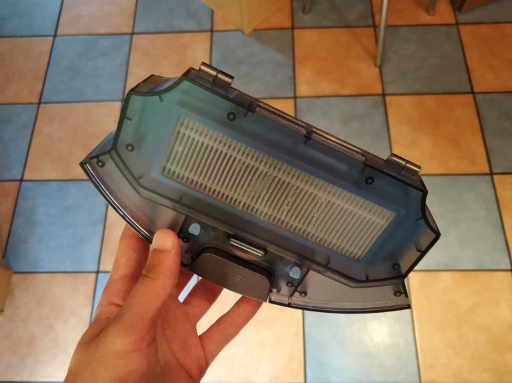 ILIFE A7 Saugroboter Staubkammer
