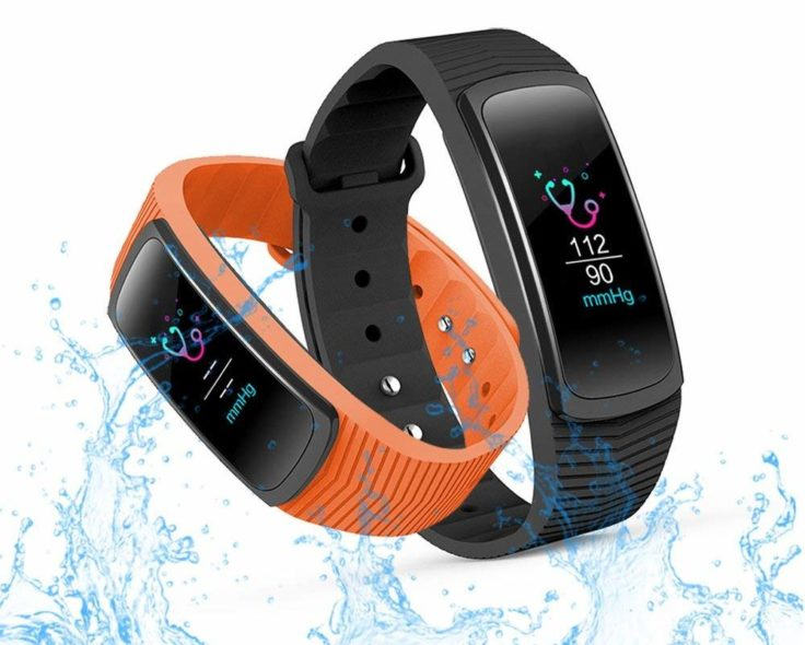 IceFox Fitness Tracker Display