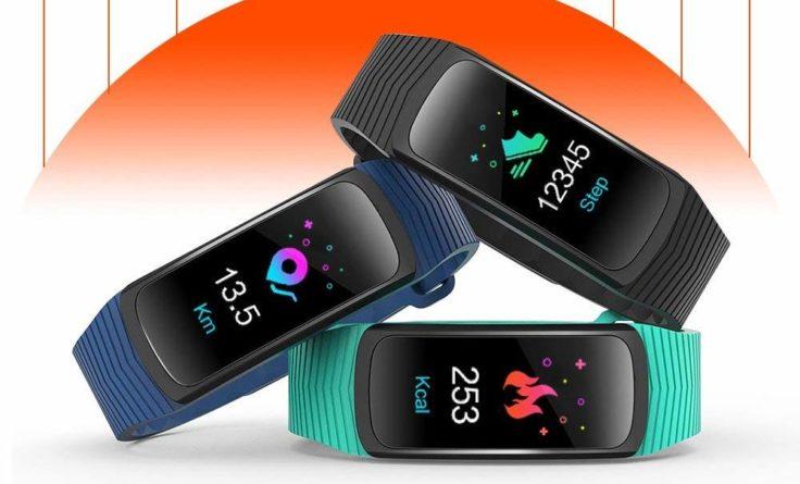 IceFox Fitness Tracker Farben