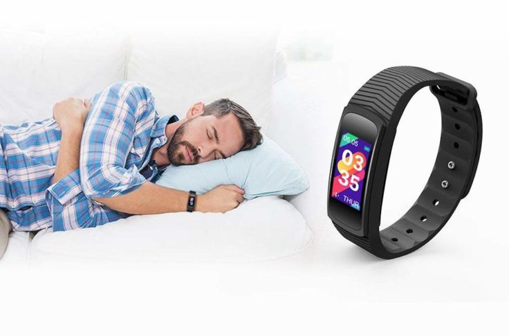 IceFox Fitness Tracker Schlafen