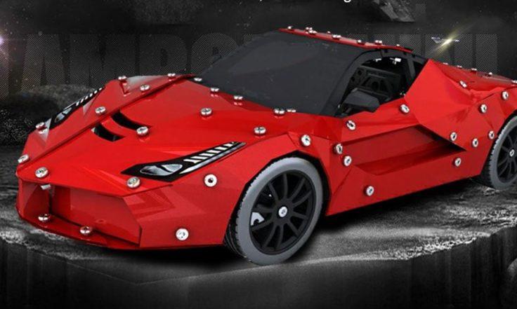 Micro Steel World Sportwagen Bausatz