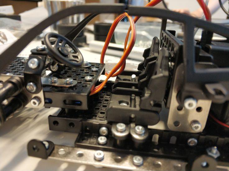 Micro Steel World Sportwagen Bausatz Aufbau Innenleben