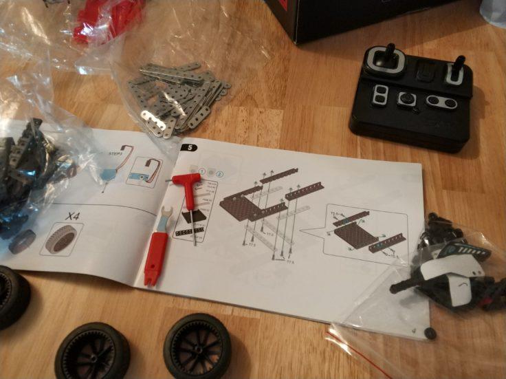 Micro Steel World Sportwagen Bausatz Aufbau Vorbereitung