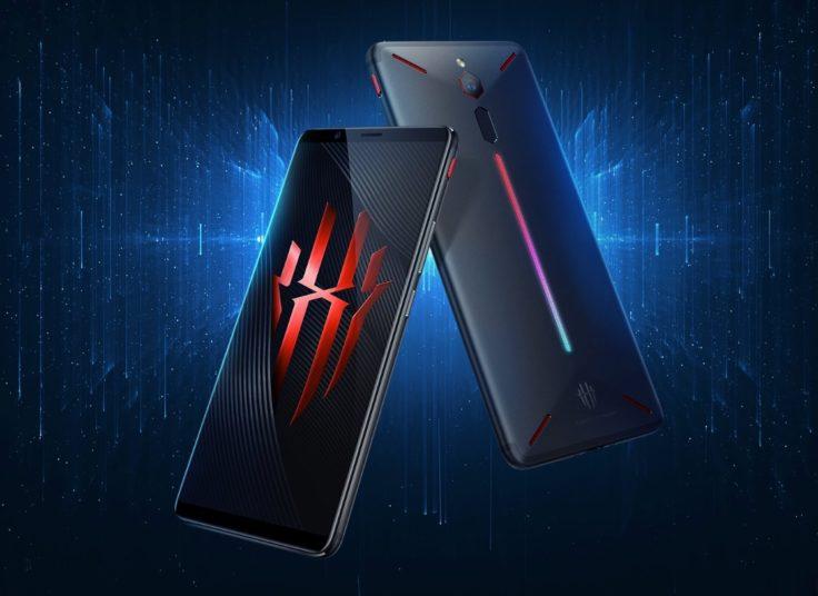Nubia Red Magic Gaming Smartphone Front und Rueckseite