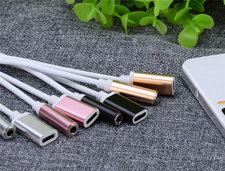 USB Typ-C Splitter Farben