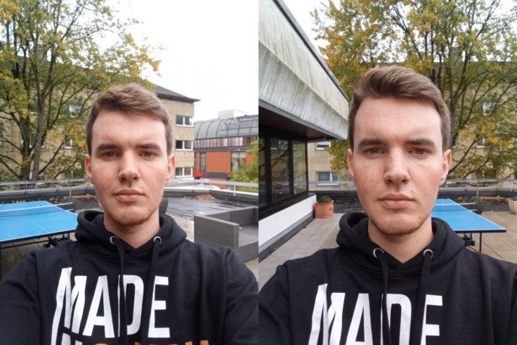 UleFone Armor 5 Selfies