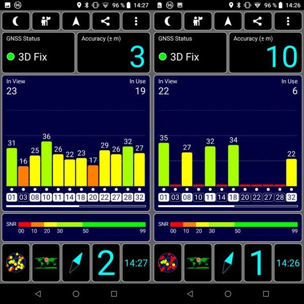 Vernee V2 Pro GPS
