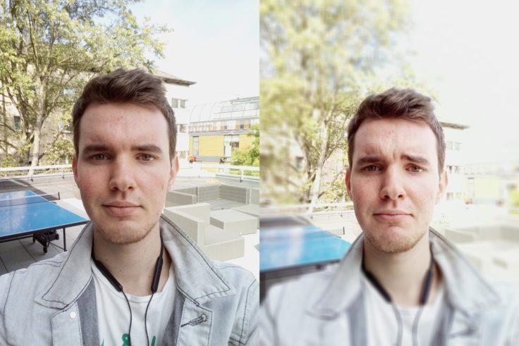 Vernee V2 Pro Selfies