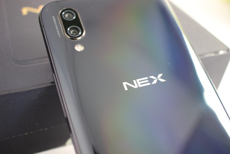 Vivo NEX Ultimate Diamant Rückseite