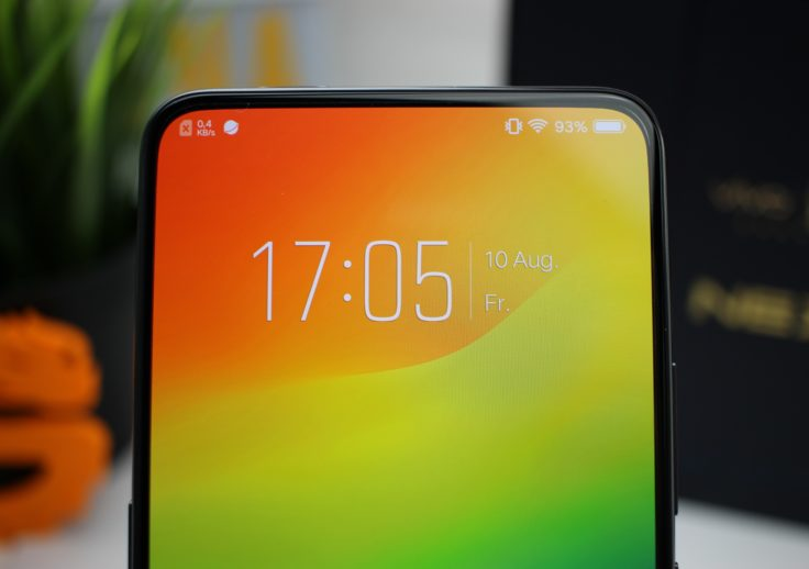 Vivo NEX Ultimate Display