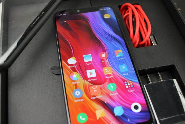 Xiaomi Mi 8 Explorer Edition Lieferumfang