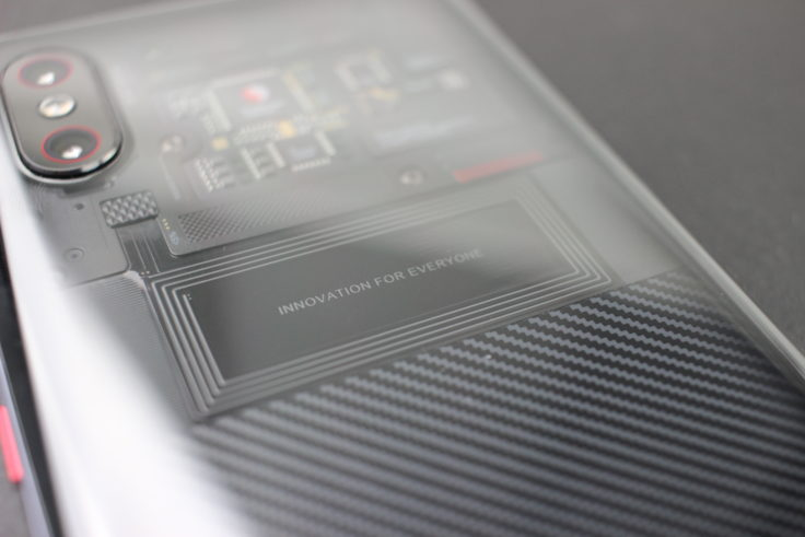 Xiaomi Mi 8 Explorer Edition Rückseite NFC