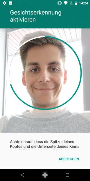 Xiaomi Mi A2 Gesichtserkennung