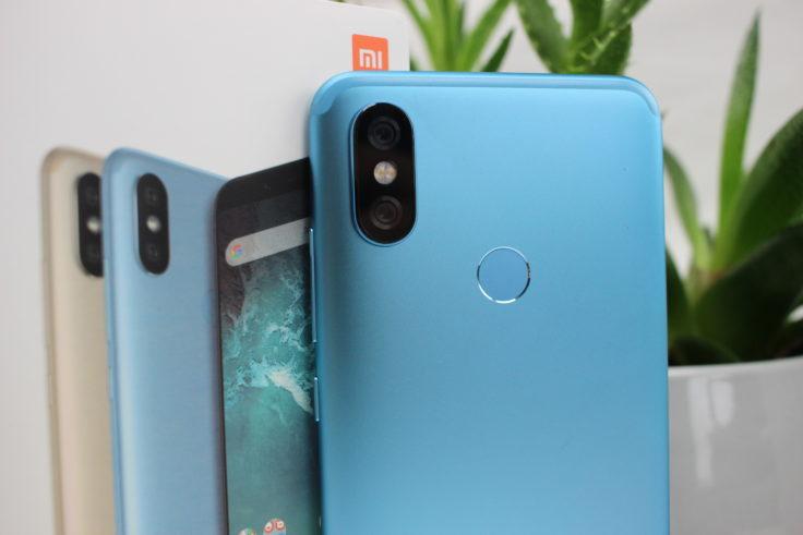 Xiaomi Mi A2 Rückseite