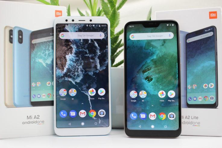 Xiaomi Mi A2 und Mi A2 Lite Vergleich