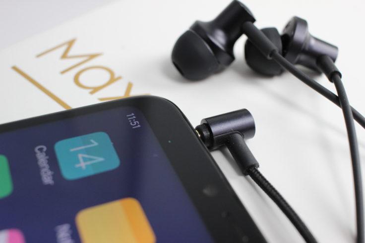 Xiaomi Mi Max 3 Kopfhöreranschluss