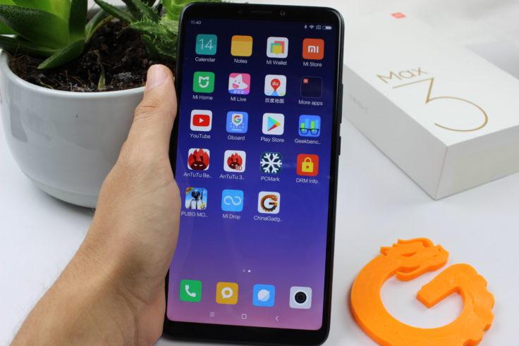 Xiaomi Mi Max 3 Smartphone in Hand