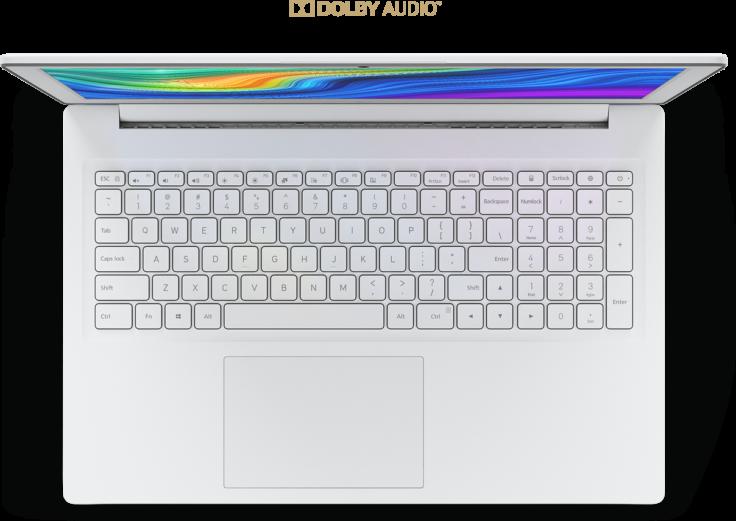 Xiaomi Mi Notebook 156 Zoll Tastatur