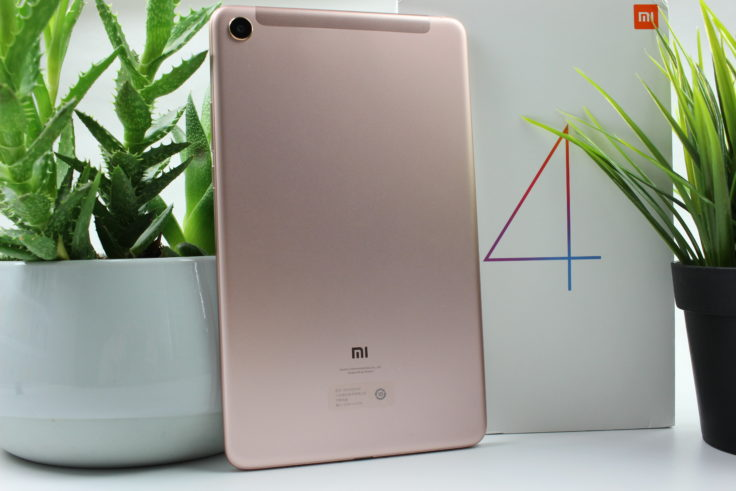 Xiaomi Mi Pad 4 Rückseite