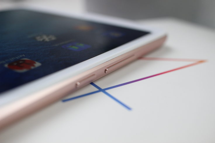 Xiaomi Mi Pad 4 Tasten