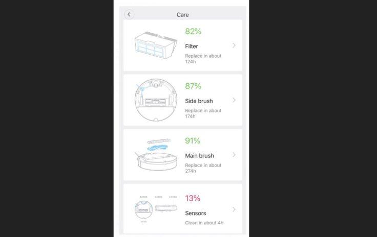 Xiaomi RoboRock Sweep One S50 Saugroboter App Ersatzteile