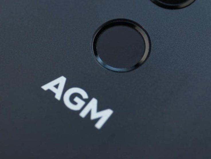 AGM X3 Fingerabdrucksensor