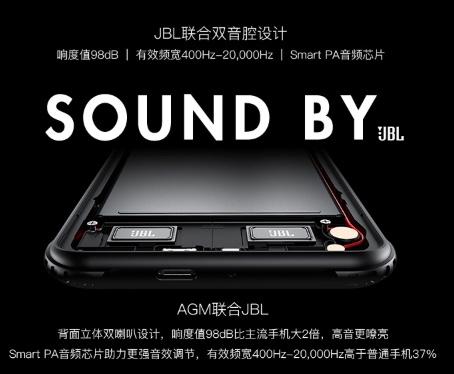 AGM X3 Lautsprecher