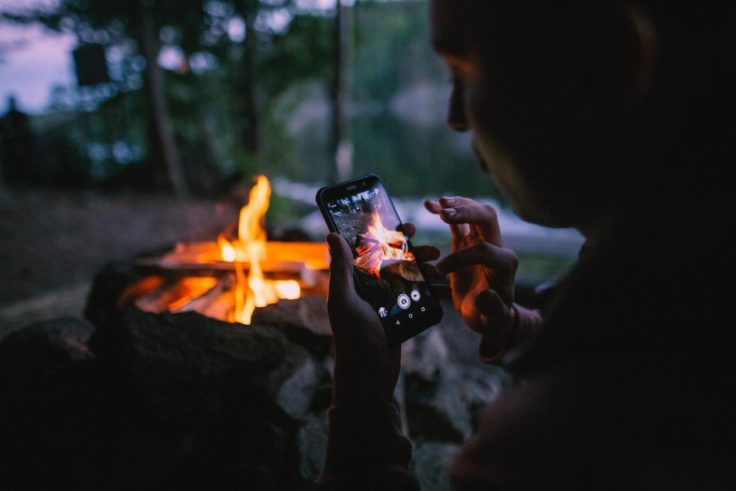 AGM X3 Outdoor Smartphone Feuer
