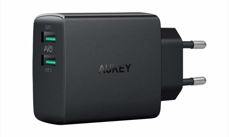 AUKEY USB Ladegeraet 2 USB Ports