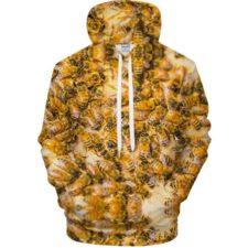 Bienen-Hoodie