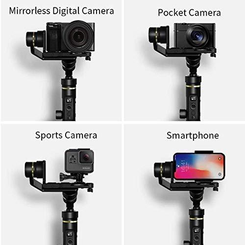 FeiyuTech G6 Plus DSLR Gimbal verschiedene Kameras