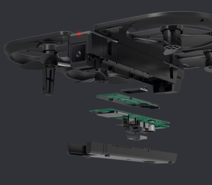 FunSnap iDol Drohne Hardware