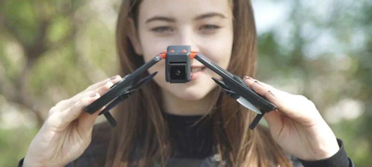 FunSnap iDol Drohne faltbares Design