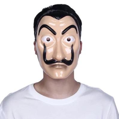 Haus des Geldes-Maske Dali