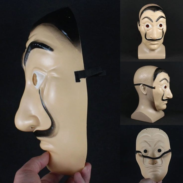 Haus des Geldes Maske Design