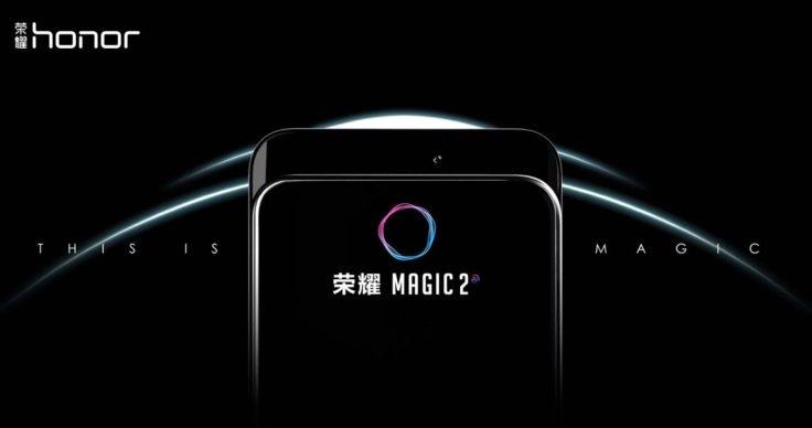 Honor Magic 2 Slider Mechanismus