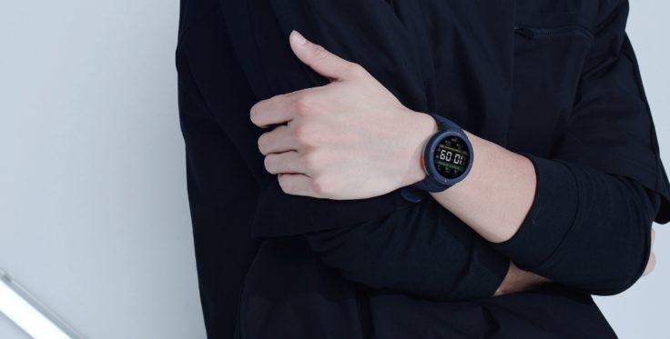 Huami Amazfit Smartwatch an Hand