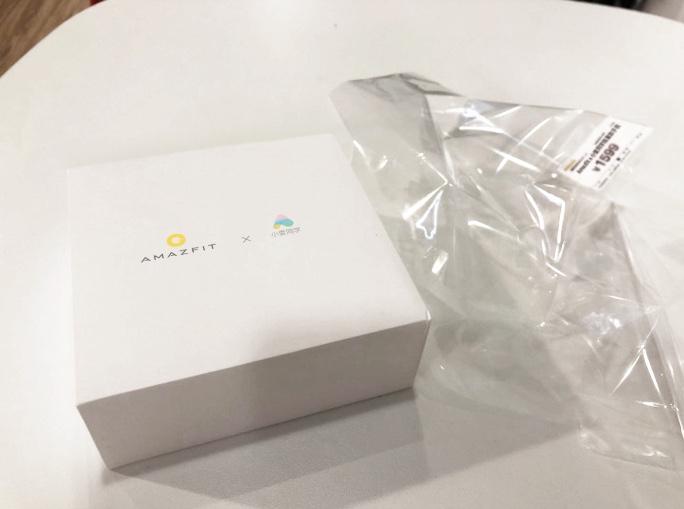 Huami Amazfit X Verpackung