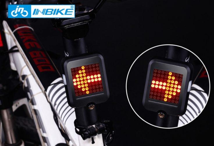 InBike TX129 intelligentes Fahrrad-Rücklicht