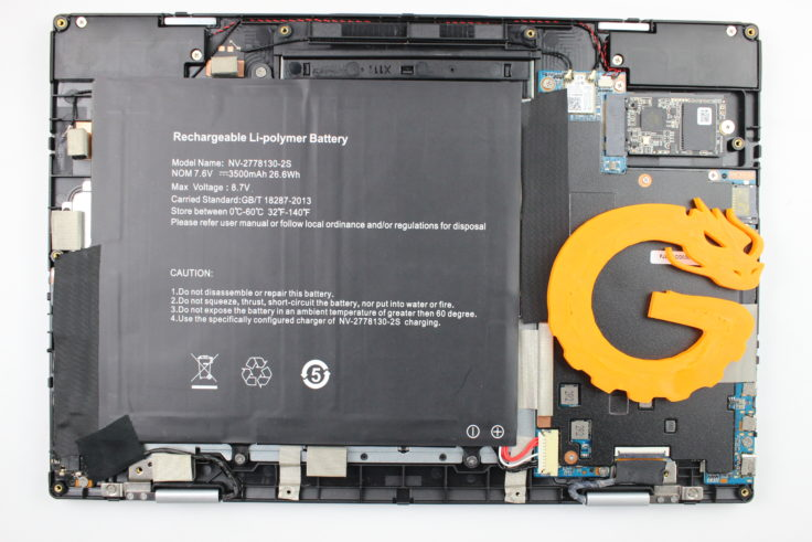 Jumper EZBook X1 Hardware