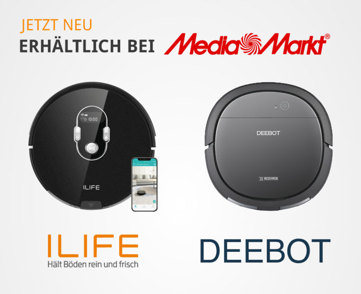 MediaMarkt ILIFE ECOVACS Modelle