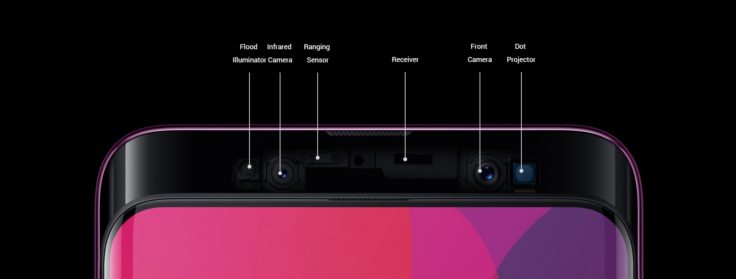 OPPO Find X Face Unlock