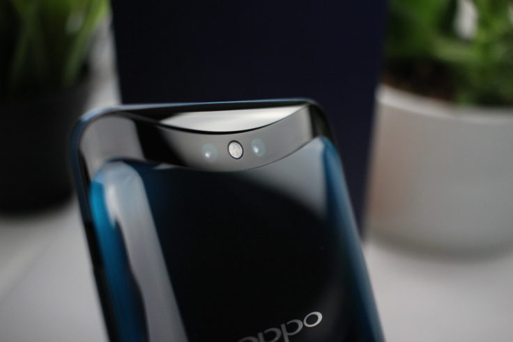 Oppo Find X Kamera