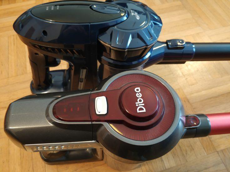 Puppyoo WP536 Akkustaubsauger Vergleich Dibea C17