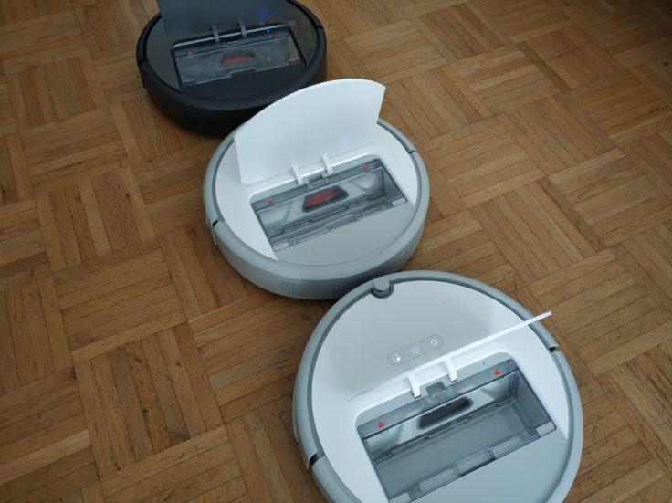 RoboRock Xiaowa E20 Saugroboter drei Modelle Klappe