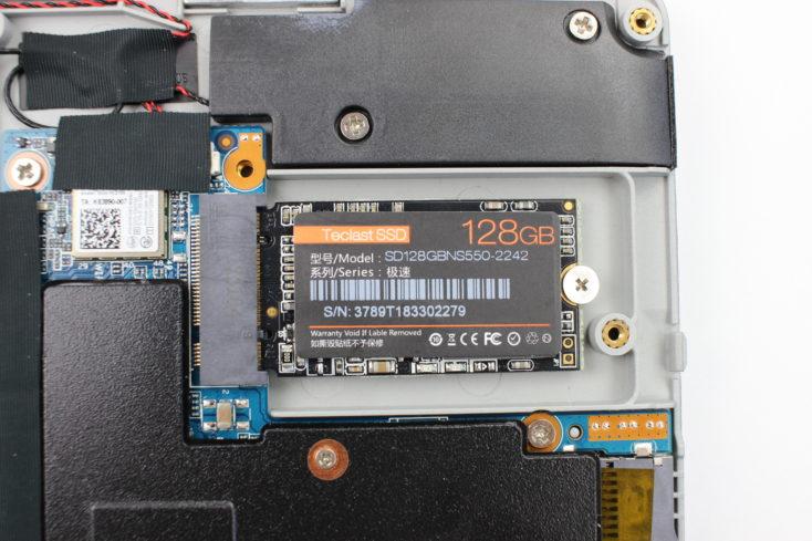 Teclast F5 SSD Slot